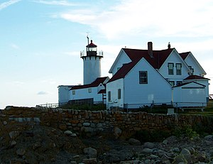 Eastern Point Light - Eastern Point Light Station