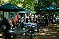 Easton Lodge Gardens, Little Easton, Essex, England outdoor café 02.jpg