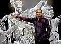 Ebenezer Sunder Singh, with YOU - acrylic on canvas, May 2006.jpg