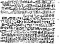 Ebers Papyrus; uterus cancer Wellcome M0012631.jpg