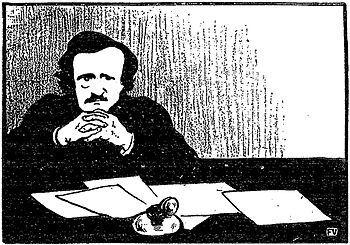 Edgar Allan Poe by Vallotton