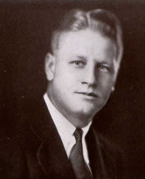 Edgar C. Jones - Jones from 1931 Seminole yearbook