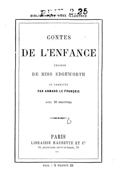 File:Edgeworth - Contes de l enfance.djvu