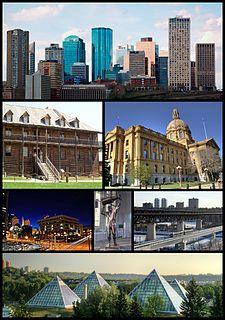 Edmonton Provincial capital city in Alberta, Canada
