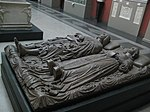 Effigies of Lodovico Sforza and Beatrice d'Este by Cristoforo Solari (casting in Pushkin museum) 01 by shakko.jpg