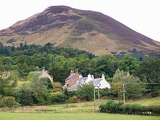 Eildon Hill - Eildon Hill North, with Eildon Village in the foreground