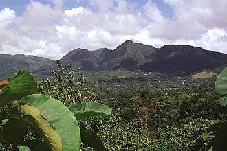 El Valle (volcano) - El Valle in 1998