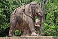 Elephant gate sculpture at Konark 01.jpg