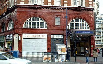 London Road, Southwark - Image: Elephanttube