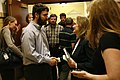 Elizabeth Edwards greets students after speaking out about Darfur at University of New Hampshire (490192438).jpg