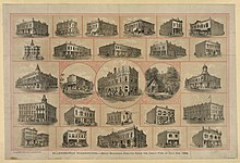 Ellensburg, Washington--brick buildings erected since the Great Fire of July 4th, 1889 LCCN2003680868.jpg