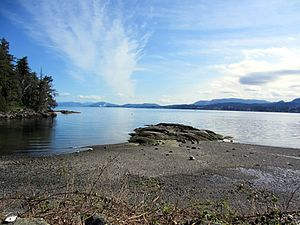 Ladysmith, British Columbia - Elliot Beach Park in Ladysmith, British Columbia