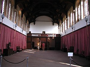 Eltham Palace - Great Hall, which is from the original palace