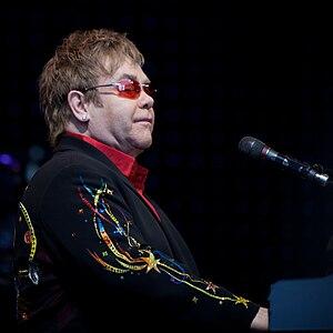 Bluesology - Elton John, formerly known as Reggie Dwight, performing in 2009