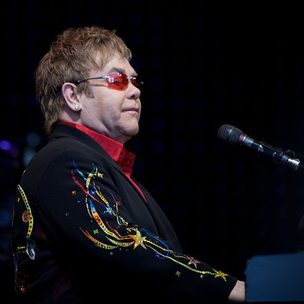 Elton John performs at the Skagerak Arena in Skien, June 2009 Elton John in Norway 4.jpg
