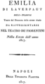 Emilia di Laverpaut 1817 Titel.png