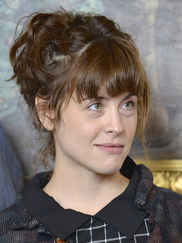 Emma Mehonic under Det Kgl. Svenske Teaters efterårssamling 2014.