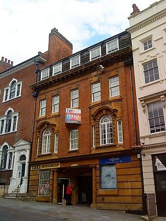 William Richard Gleave - Enfield Chambers, Low Pavement, Nottingham 1909-10