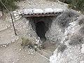 Entrada d'un búnquer a les Trinxeres dels Tossals, Montgai (gener 2012) - panoramio.jpg