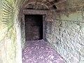 Entrance passage, Ballochmyle House ice house, Mauchline, East Ayrshire.jpg