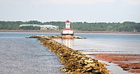 Entrance to Summerside Harbour, Indian Spit Light, Prince Edward Island, Canada - panoramio.jpg