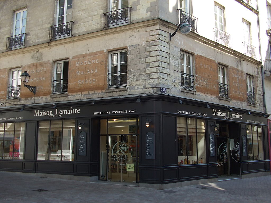 fichier epicerie fine lemaitre rue de la paix nantes jpg wikip dia. Black Bedroom Furniture Sets. Home Design Ideas