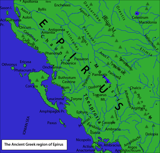 Illyrian Wars - Epirus had to deal with various Illyrian invasions under Agron and Teuta
