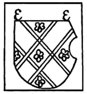 Erhard Etzlaub - Etzlaub's coat of arms.