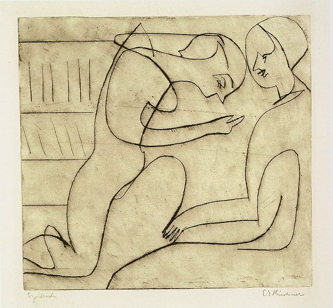 File:Ernst Ludwig Kirchner - Paar in der Bibliothek - 1930.jpg