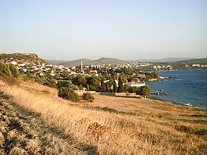 Erythrae - The bay at Ildırı in Çeşme district, formerly the bay of Erythrae