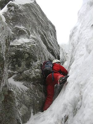 Hohneck (Vosges) - Winter mountaineering on the Hohneck North face