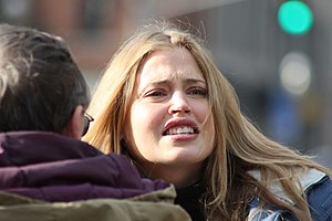 Estella Warren in Fredericton shooting movie &...