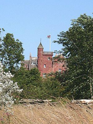 Marion Ogilvy - Ethie Castle