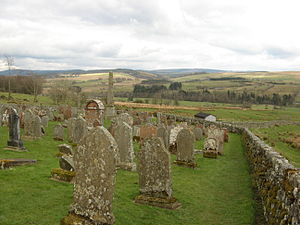 Liddesdale - Ettleton cemetery, near Newcastleton
