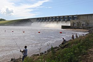 Eufaula Lake - Fishing at Eufaula Dam