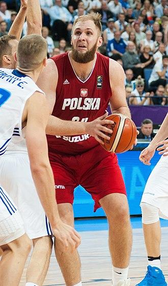 Przemek Karnowski - Karnowski during EuroBasket 2017
