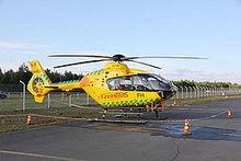 Pelastushelikopteri lappi