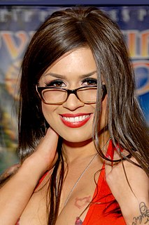 Eva Angelina American pornographic actress and real estate agent