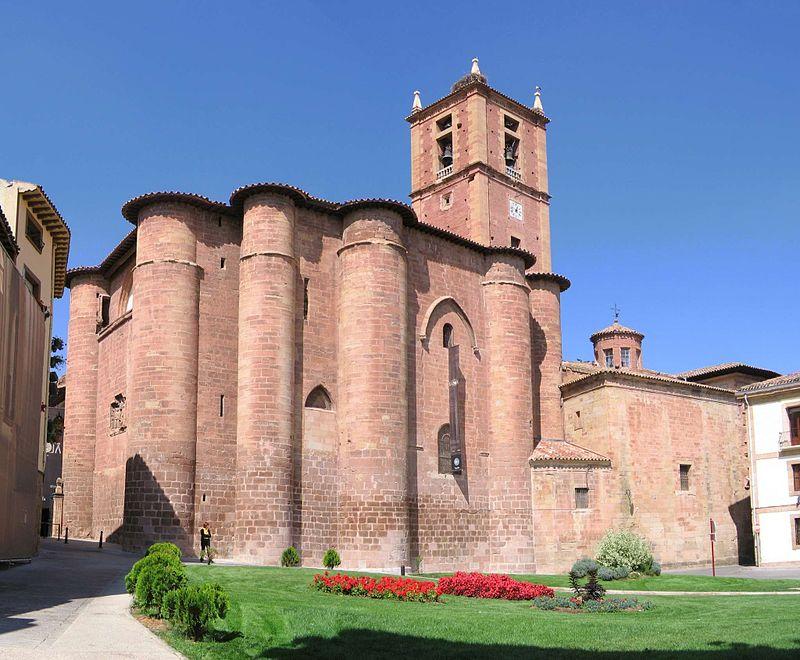 Ex-Benediktinerkloster Nájera Spanien.jpg