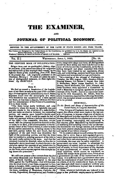 File:Examiner, Journal of Political Economy, v2n18.djvu
