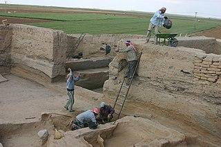 archaeological site in ar-Raqqah, Syria