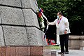 Executive Secretary Salvador Medialdea leads the wreath-laying ceremony during the commemoration of the 122nd Anniversary of the Proclamation of Philippine Independence at the Rizal Park in Ermita, Manila on June 12, 2020. 8.jpg
