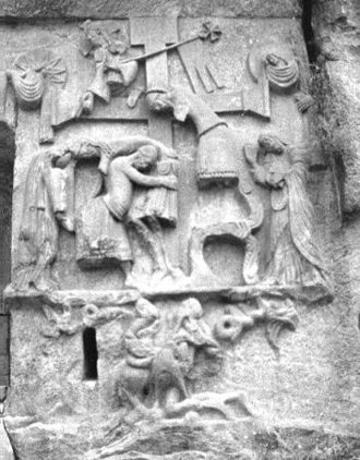 Descent from the Cross - Image: Externsteine Relief
