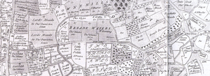 Lordship Lane, Haringey - Earl of Dorset's 1619 Tottenham survey.