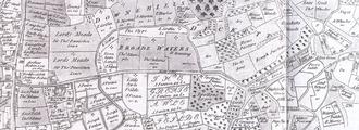 Lordship Lane, Haringey - Earl of Dorset's 1619 Tottenham survey.