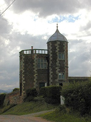 Eyton on Severn - The octagonal tower