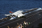 F-4S VF-161 launch USS Midway (CV-41) 1981