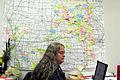 FEMA - 35905 - FEMA field coordinator with map in Iowa.jpg