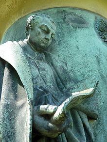 Porträt Guiolletts am Frankfurter Denkmal (Quelle: Wikimedia)