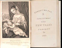 "The title page and frontispiece from the ""Forget Me Not"" annual for 1823. FMN 1823 Title.jpg"